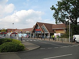 Tesco superstore in Potters Bar