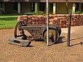 Thackray barford patent scarifier - Tellicherry fort, Kerala, India (12).jpg