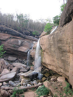 Phu Kradueng Nationalpark, Tat Hong Waterfall, Loei