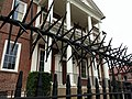 "The ""Please-do-not-enter"" iron fence of the Miles Brewton House, Charleston, SC (17003835705).jpg"