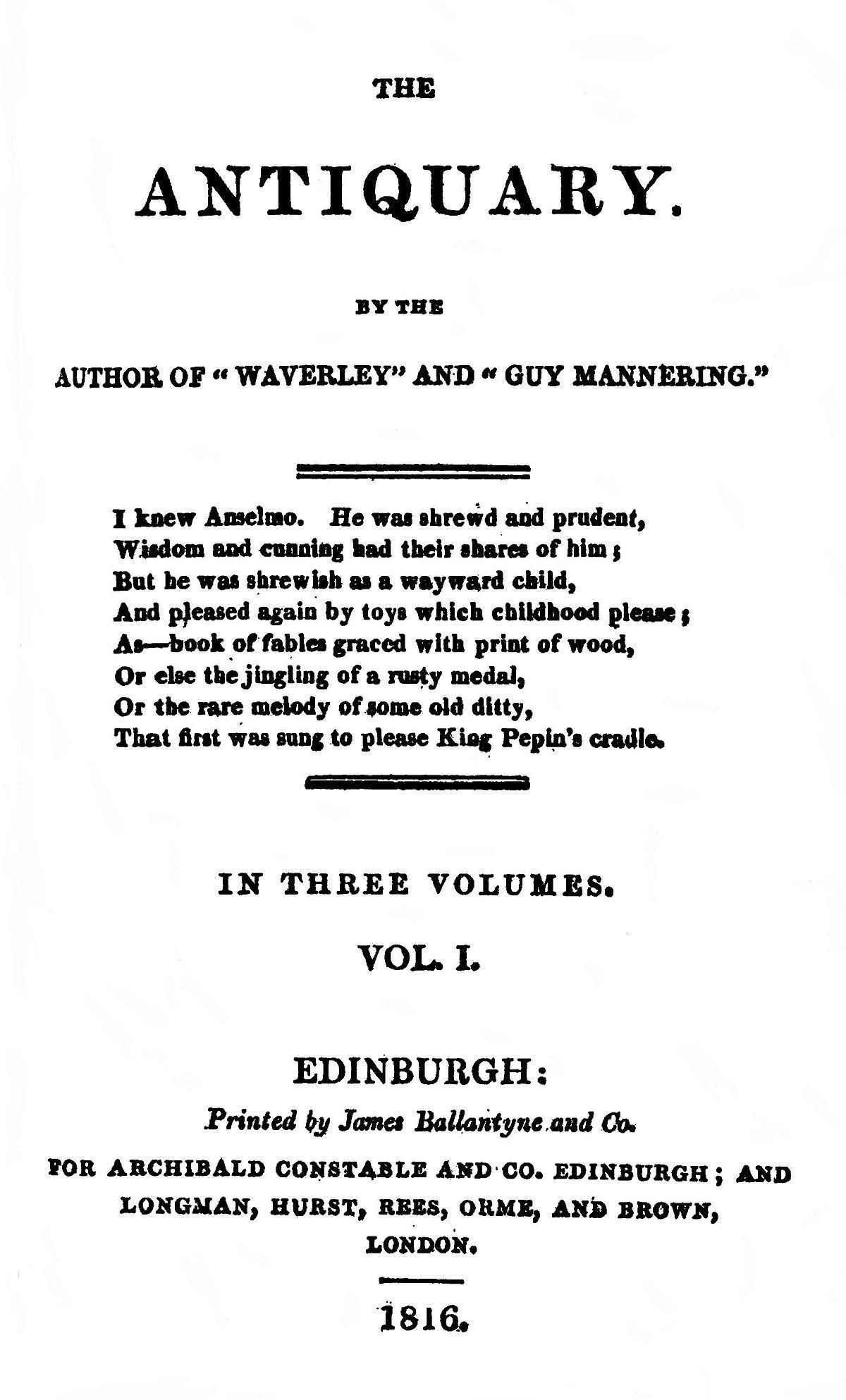 Антиквар роман Википедия
