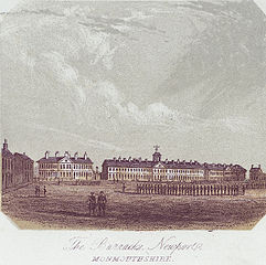 The Barracks, Newport, Monmouthshire