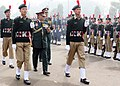 The Chief of Army Staff, General V.K. Singh inspecting the Guard of Honour at NCC Republic Day Camp 2011, in New Delhi on January 10, 2011.jpg