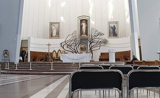 The Divine Mercy Shrine in Kraków