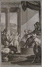 The English ask pardon of Aurangzeb