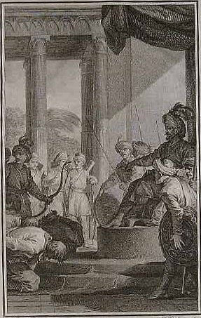 The English ask pardon of Aurangzeb