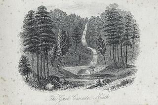 The Gnol cascade, Neath