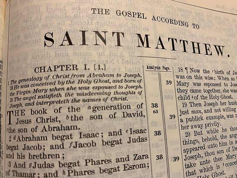 File:The Gospel of Matthew.jpg