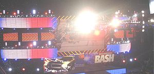 The Great American Bash (2008) - The stage setup for The Great American Bash