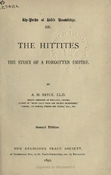 The Hittites - the Story of a Forgotten Empire.djvu