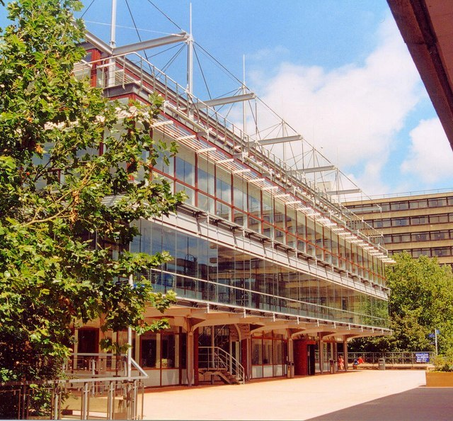 The Library, University of Bath - geograph.org.uk - 795438