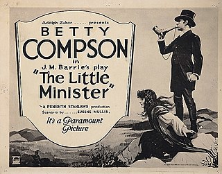 <i>The Little Minister</i> (1921 film) 1921 film by Penrhyn Stanlaws