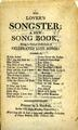 The Lover's Songster; a New Song Book; Being a Choice Collection of Celebrated Love Songs WDL3360.pdf