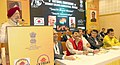The Minister of State for Housing and Urban Affairs (IC), Shri Hardeep Singh Puri addressing at the valedictory function of the 5th National Conference on Resident Welfare Association, in Mumbai on November 19, 2017.jpg