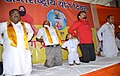 The Minister of State for Urban Development, Housing and Urban Poverty Alleviation, Shri Babul Supriyo participates in the mass yoga demonstration on the occasion of International Yoga Day, in Asansol, West Bengal.jpg