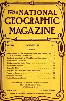 The National Geographic Magazine Vol 16 1905.djvu