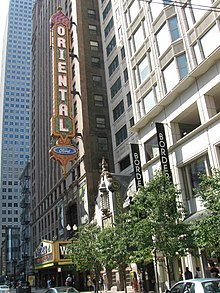 Description de l'image  The Oriental Theatre in Chicago.jpg.