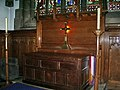 The Parish Church of St Mary's Luddenden, Altar - geograph.org.uk - 987121.jpg