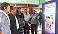 The Parliamentary Secretary, Shri K. Lalrinthanga visiting the DAVP Photo Exhibition, at the Public Information Campaign, at Saipum village of Kolasib District, in Mizoram on November 12, 2015.jpg