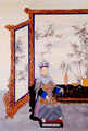 The Portrait of the Qing Dynasty Ci-Xi Dowager Empress of China by a Chinese Imperial Painter.PNG