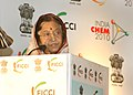The President, Smt. Pratibha Devisingh Patil addressing at the inauguration of the India Chem-2010, in Mumbai on October 28, 2010.jpg