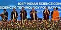 The Prime Minister, Shri Narendra Modi at the 104th Indian Science Congress, at Tirupati, Andhra Pradesh.jpg
