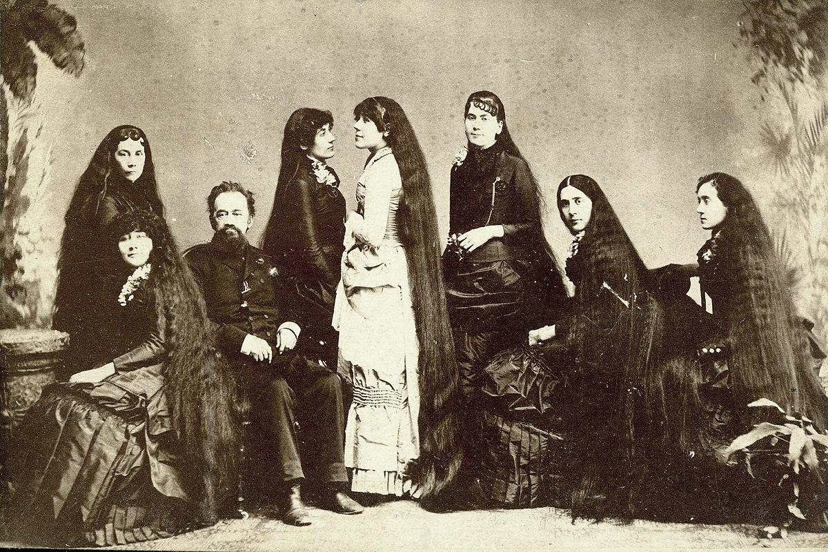 Seven Sutherland Sisters - Wikipedia