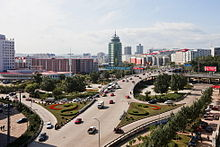 The Tengfei Overpass in Jixi City.jpg