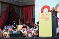 The Vice President, Shri Mohd. Hamid Ansari addressing at the 16th National Youth Festival 2011, in Udaipur, Rajasthan on January 12, 2011.jpg