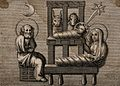 The Virgin Mary and the infant Christ wrapped in swaddling c Wellcome V0034613.jpg