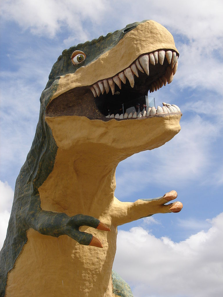 The Biggest Spring 2016 Fashion Trends On Pinterest: File:The Worlds Largest Dinosaur, Drumheller (5848307011