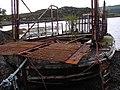 "The derelict Kylesku ferry ""The Maid of Kylesku"" - geograph.org.uk - 973158.jpg"