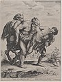 The drunken Silenus, supported by a satyr and a faun MET DP875185.jpg