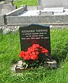 The grave of Richard Tipping a young war-time evacuee from Liverpool - geograph.org.uk - 1430834.jpg