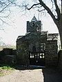 The lych gate and stile at Eglwys y Santes Fair, Llanfairynghornwy - geograph.org.uk - 1235724.jpg