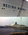 The passenger ship Regina Magna - Gothenburg 1972.png