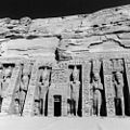 The reconstruction of the Abu Simbel great and Small Temples was completed in sepember 1968. The Small Temple on its new site.jpg