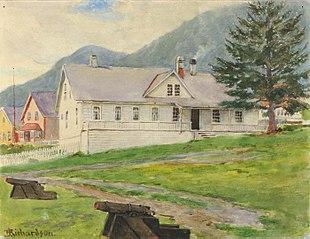 Former Governor's House, Sitka, 1905