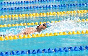 Thiago Pereira - Thiago Pereira during 200-meter individual medley at Rio 2007