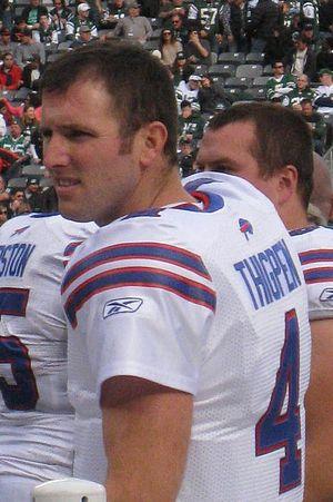 Tyler Thigpen - Thigpen with the Bills in November 2011