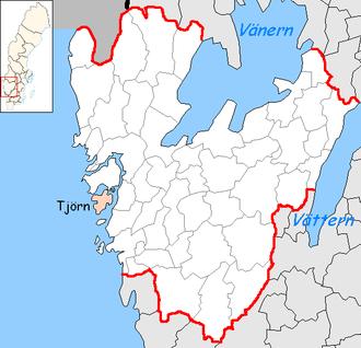Tjörn Municipality - Image: Tjörn Municipality in Västra Götaland County