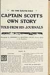 To the South Pole. Captain Scott's own story told from his journals (Page (123)) BHL48505311.jpg
