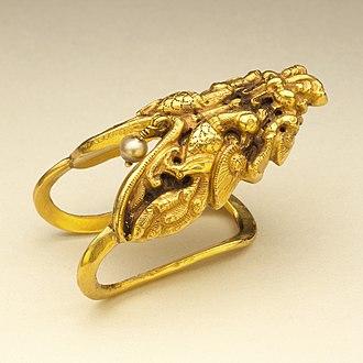 Toe ring - Gold Bichiya/Metti (toe-ring), early 19th century