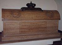 Tomb of James Francis Edward Stuart