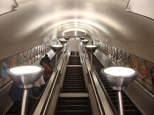 Tooting Bec escalators