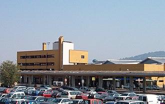 Torino Lingotto railway station - The passenger building.
