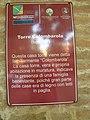 Torre Colombarola, cartello (San Giorgio di Piano).JPG