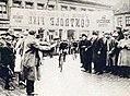 Tour de Belgique 1923, la traversée d'Ostende.jpg