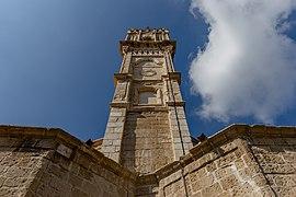 Tower of Church of Virgin Mary of Chrysopolitissa, Larnaca, Cyprus 12.jpg