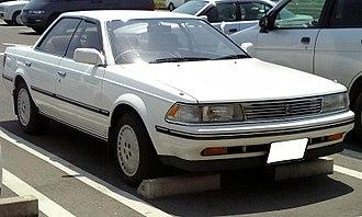 Toyota Carina ED - Image: Toyota Carinaed 1987
